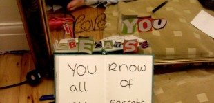 You Know All Of My Secrets . . .