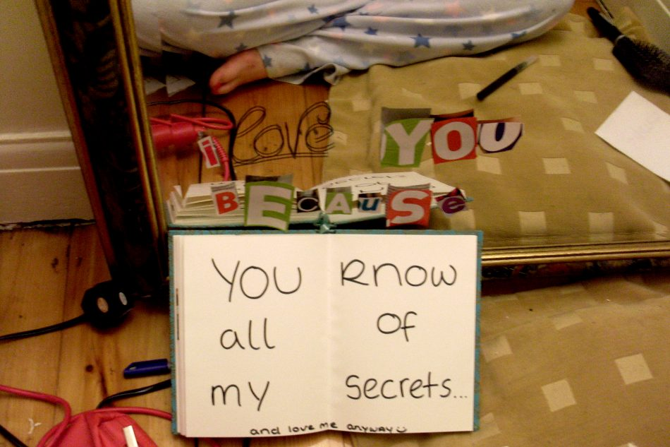 You Know All Of My Secrets